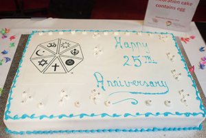 Birthday Cake - 25 Year Celebration (Dandenong Interfaith)