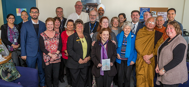 Multifaith Blessing of Interfaith Office